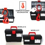Pendenti di catena G80 in scatole porta-utensili
